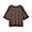 SMOKY BROWN(슬러브 저지 · 5부소매 티셔츠)