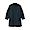 BLACK(워싱 포플린 · 매듭 단추 롱 셔츠)