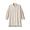 FADED BEIGE(워싱 포플린 · 매듭 단추 롱 셔츠)