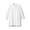 WHITE(워싱 포플린 · 매듭 단추 롱 셔츠)
